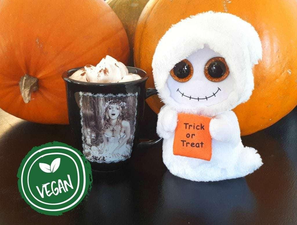 Vegansk pumpkin spice latté (PSL)- perfekt til den kolde tid i norden.