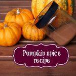 pumpkin spice opskrift græskar halloween