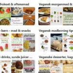 Vegansk og plantebaseret pinterest lise sommerlund