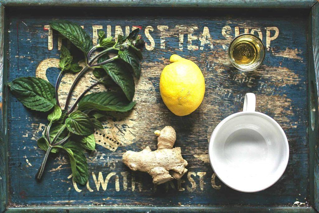 influenza bedste natur medicin ingefær te