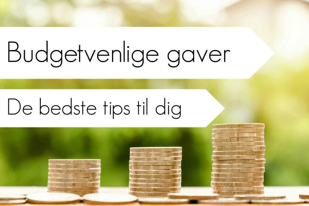 Budget venlige gaver – Læs hvor du kan spare